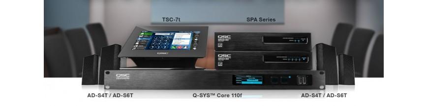 Q-SYS 触屏控制器